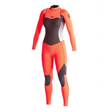 Roxy Syncro Back Zip GBS Ladies Summer 3/2 Wetsuit (Graphite/F.Peach)