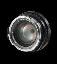 @ Voigtlander for Leica M Nokton 35mm/F1.4 S.C. Single Coated black new!