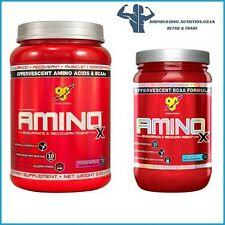 BSN AMINO X 435g/ 1.1kg Servings BCAA AMINO ACIDS ENERGY recovery