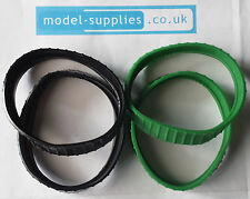 Dinky 561/961 Blaw Knox Dozer Pair of Reproduction Rubber Tracks Black or Green