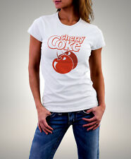 "Coca Cola "" Cherry Coke"" White Woman T-shirt"