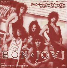 BON JOVI Born To Be My Baby (1988 Japanese Mercury promotional  2-track vinile