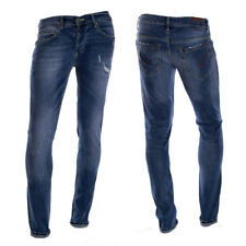 DONDUP - JEANS PANTALONI UOMO 5 TASCHE STRETCH MODELLO UP232 SLIM FIT DS147UV