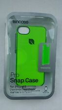Incase APPLE iPhone 5/5S/SE Pro Snap Hard Case Neon Hot Green Clear CL69099
