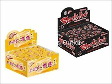 50x Fruit Salad Sweets Retro Black Jack Chews Party Bag Fillers Sweets