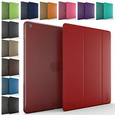 Ultra Slim Magnetic PU Leather Smart Cover Hard Back Case For Apple iPad Mini 4