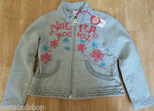 Nolita Pocket girl warm jacket cardigan top 3-4 y  BNWT designer fleece