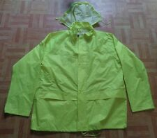 New Mens Hi Viz Streetwise Chepstow PVC Coated Rain Jacket Size XXLarge