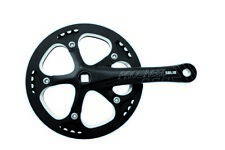 PROWHEEL Crankset square Solid with chainguard 46T x 3/32 x 170 mm black