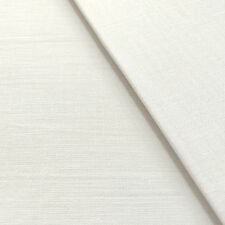 BED SHEETING FABRIC White Extra Wide 240 cm Polycotton By Chatham-Glyn