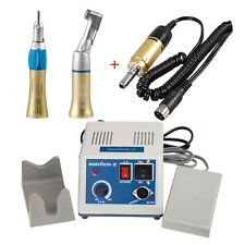 Marathon Dental Lab 35K rpm Micromotor N3 Contra Angle Straight Handpiece 4H D