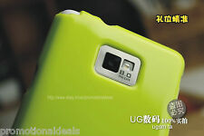 Shiny Silicon Soft Back Cover Case For Samsung Galaxy S2 i9100