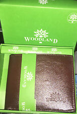 WoodLand Premium Genuine Leather Mens Bifold Wallet