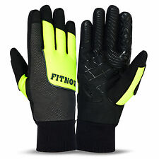 Cycling Gloves Full Fingers Bike Winter Thermal Windproof Bicycle Sports Gloves