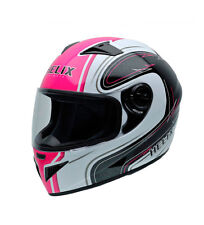 Nzi - Casco integral NZI Must II multi blanco, rosa