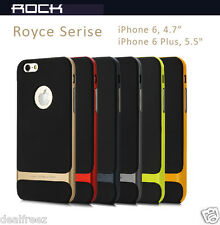 Rock Royce Premium Hybrid TPU+PC Back Case Cover Apple iPhone 5 5S iPhone 6 Plus