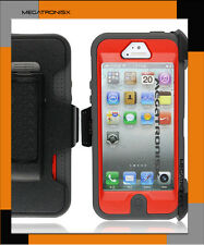 RUGGED DEFENDER CASE FOR iPHONE 5 COVER DROP PROTECTION