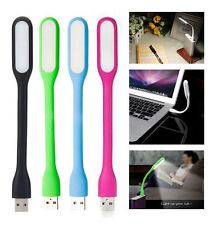 Flexible USB Led Lamp Light Torch For Laptop Notebook Computer PC Mac Reading