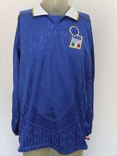 MAGLIA INDOSSATA MATCH WORN SHIRT ITALY ITALIA 1995 SIGNED