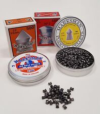 MARKSMAN .177 .22 Pointed & Domed Air Gun, Rifle and Pistol Pellets. Qty 50-1000
