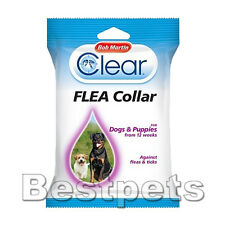 Bob Martin Clear Flea & Tick Collar For Dogs And Puppies,Dog Treatment