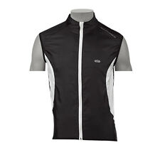NORTHWAVE GILET ANTIVENTO NORTH WIND WEST NERO/BIANCO