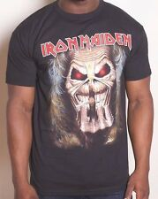 Iron Maiden T-Shirt - eddie candle finger