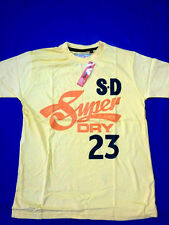 Yellow Superdry Round Neck t shirt For Mens