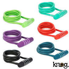 Knog Twisted Combo Cable 130cm Bike Lock