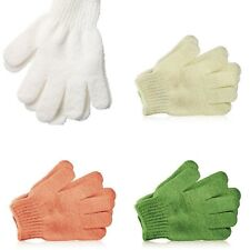 New Genuine Fine Bath Gloves - Exfoliating Shower Mitts by The Body Shop