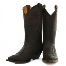 Grinders Arizona Cowboy Western Brown Leather Boots Knee High Boot