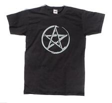 Pentacle Pentagram Wicca Wiccan Pagan Mens Unisex Halloween T Shirt
