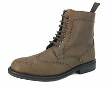 Frank James Benchgrade Cotswold Brogue Cordones Dainite Botas Hombre Marrones