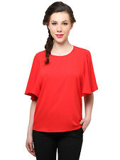 XnY Red Bell Sleeves Top (TP 84727 X2_Red)
