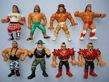 8 WWF HASBRO WRESTLING Action Figures - Faulty ,Spares ,Repair  - WWE WCW
