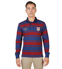 Oxford University - Polo Queens Rugby rojo, azul Hombre chico