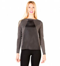Silvian Heach - Jersey color gris oscuro Mujer chica