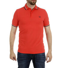 Fred Perry - Polo M3600 rojo Hombre chico