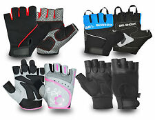 GYM FITNESS WORK OUT BODYBUILDING EXERCISE TRAINING PADDED PALM RETRO GLOVES