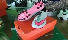 ZAPATOS NIKE SHOES FÚTBOL MERCURIAL V VICTORY AG WOLF GRIS PINK ROSA JUNIOR KIDS