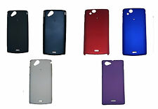 For- Sony Xperia Arc S Lt18i X12I Hard Back Case Cover Matte Finish With Guard