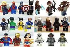 Lego & Custom Minifigures Super Heroes & Star Wars Mini Figures Batman Ironman