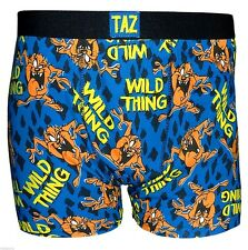 MENS TAZMANIAN DEVIL BOXER SHORTS LOONEY TUNES TAZ MENS  BOXERS TRUNKS,