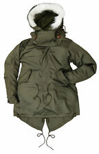 New Replica US Fishtail Parka Mens Mod Military M65 M51 - SIZE SMALL ONLY LEFT