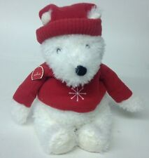 Hallmark Christmas Snow Flake Bear Plush Teddy 14