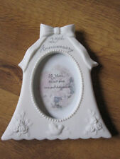 Anniversary Bell Photo / Picture Frame 5,10,15,25,35,40,45 anniversary, H:15cm
