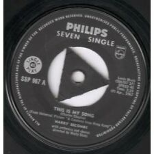 "HARRY SECOMBE This Is My Song 7"" VINYL B/W Song Of The Valley (Ssp967) South"
