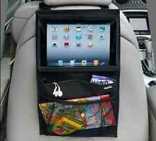Car Back Seat Organiser Travel Storage Bag iPad 6 Air Mini Holder Tablet Pocket