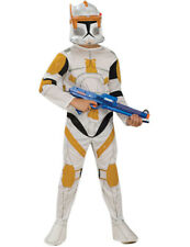 Child Clone Trooper Commander Cody Boys Fancy Dress Star Clone Wars Kids Outfit