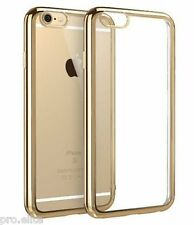 ProElite Soft TPU Back case cover for Apple iPhone 7 / iPhone 7 Plus - Gold